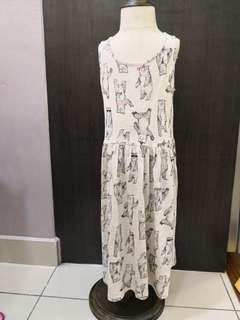 H&M Dancing Bears Dress (8-10y)