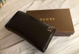 Guaranteed Authentic Gucci Zippy Wallet - repriced!