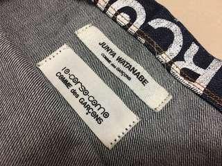 CDG comme des garcons Junya Watanabe denim tote bag supreme off white balenciaga Gucci Vetements Raf simons Y3
