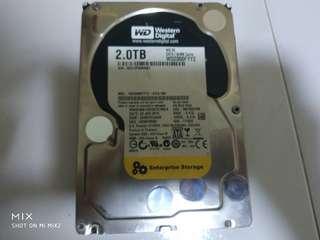 """WD Black 2TB 3.5"""" Desktop Hard disk"""
