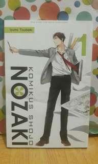 """Komik """"Komikus Shojo Nozaki"""" Volume 01"""