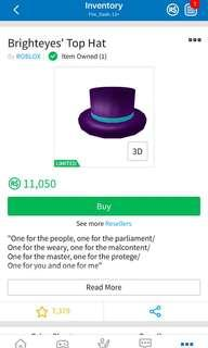 Roblox TOP hat