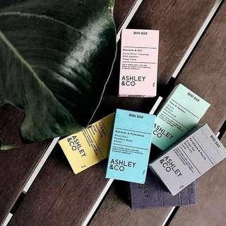 ASHLEY & CO. mini soap bar (90g)