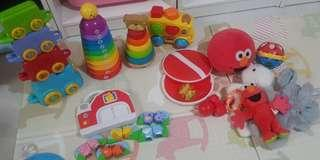 Set of Preloved kids toys (for babies to toddler to preschooler)