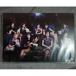 SNSD/ Girls' Generation Completed Video Collection DVD (RUSH SALE)