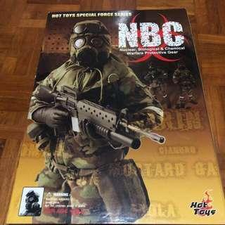Hot Toys 1/6 NBC Soldier Biochemical Warfare (Camo ver)