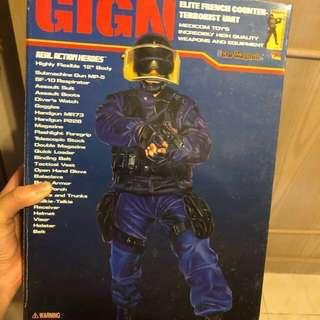 Medicom 1/6 Real Action Heroes GIGN Swat