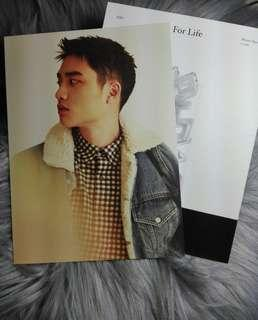 EXO D.O For Life Official Photocard (Set)