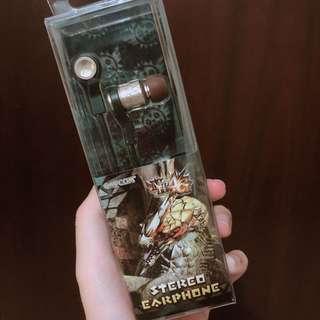 🚚 CAPCOM STEREO EARPHONE 耳機 10周年款