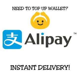 *FAST* China AliPay Top Up Service