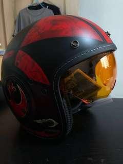 HJC FG 70S Poe Dameron Classic Motorcycle Helmet