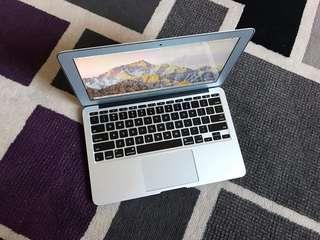 MacBook Air 1.6GHz Core i5 2GB 64SSD 11.6inch LED OS Sierra