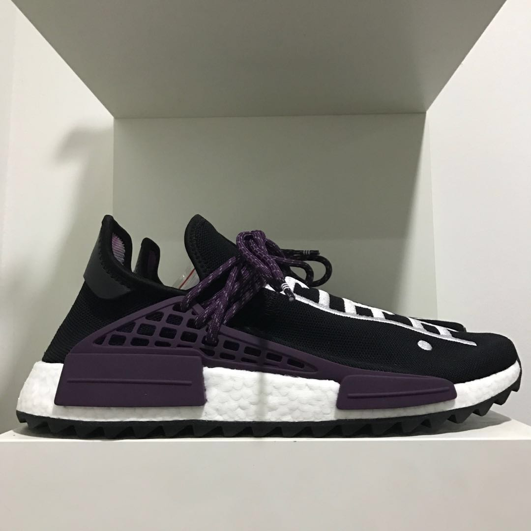 bcac42fc1a8a Adidas NMD PK Pharrell Williams Human Race Core Black Holi Festival ...