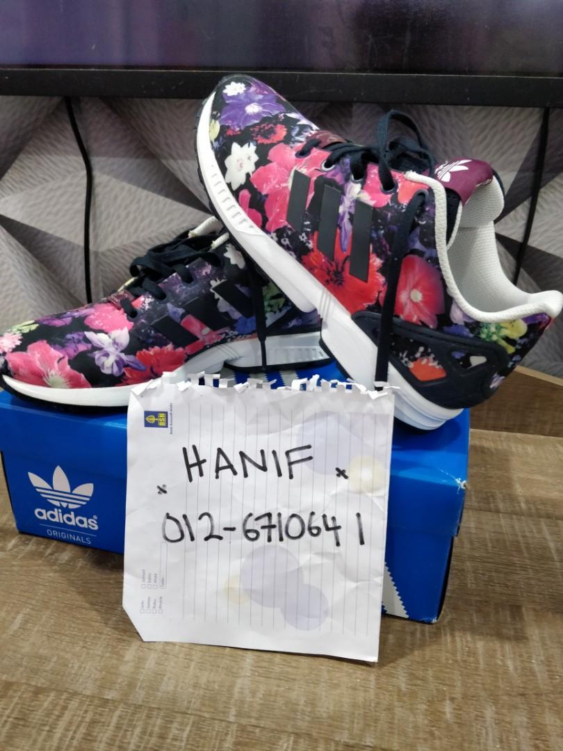 buy popular f3693 2b673 Adidas Originals ZX Flux floral