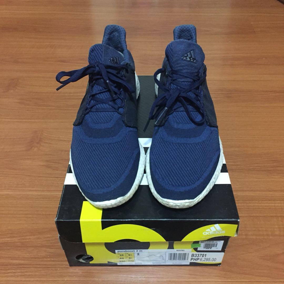 067ac48f4 Adidas Pureboost Navy Blue sz 10