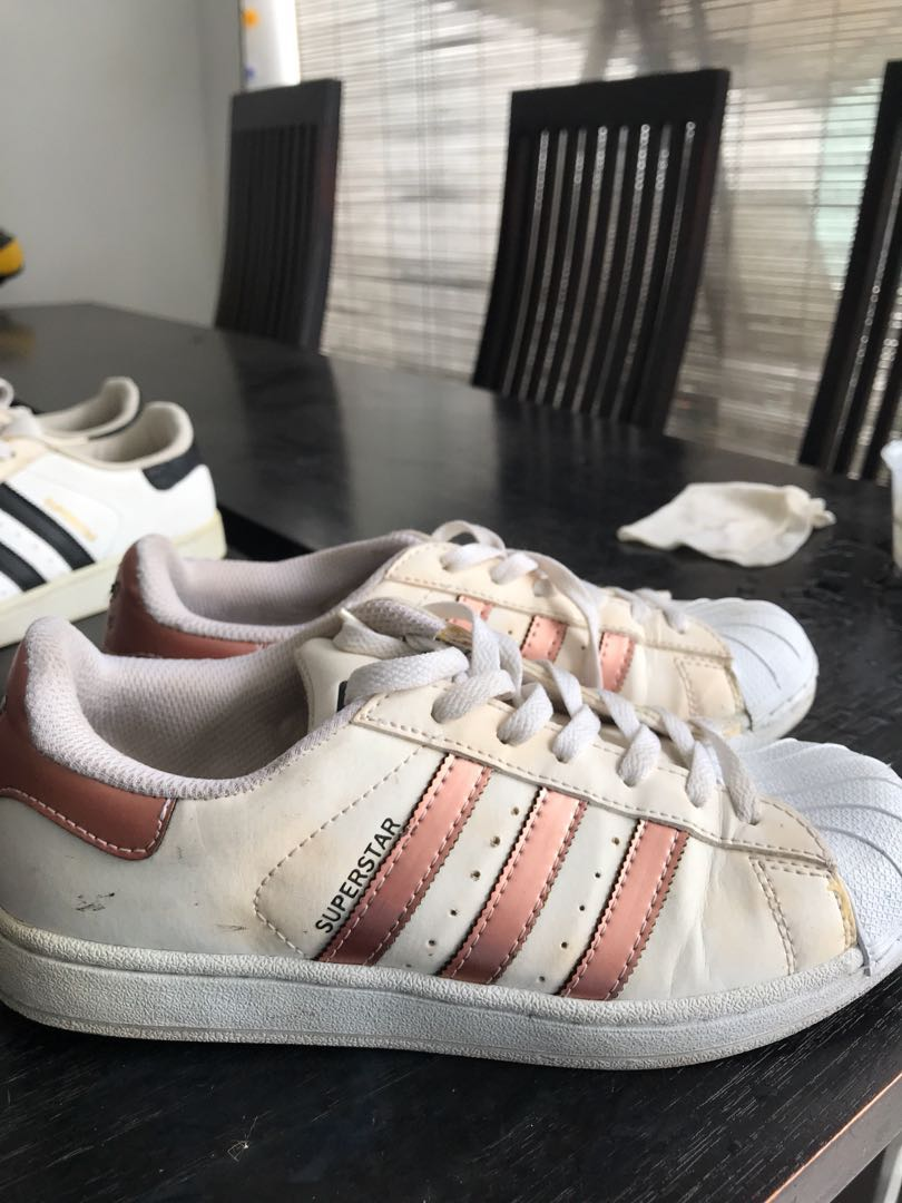 aeaef05ab2a32 Adidas Superstar Rose Gold, Women's Fashion, Shoes, Sneakers on ...