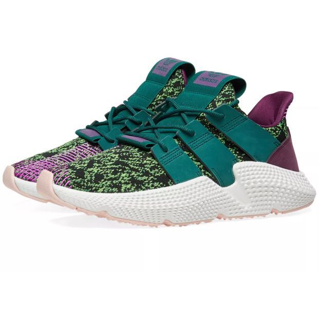 """finest selection c5c48 3af11 Adidas x Dragon Ball Z Prophere """"Cell"""", Mens Fashion, Footwear, Sneakers on  Carousell"""
