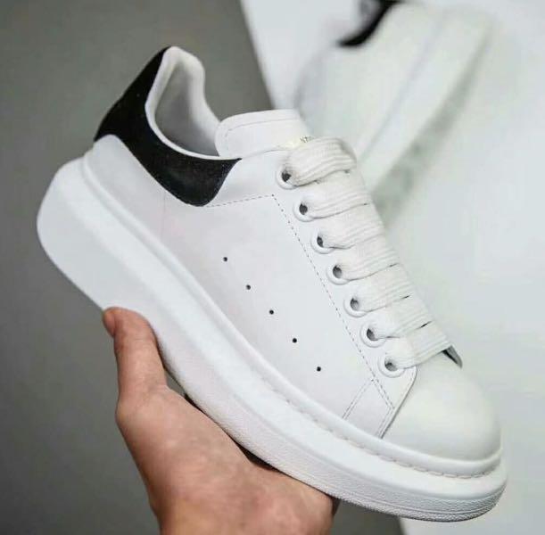 a7491b92a90c Alexander Mcqueen Oversized Sneaker black suede size 40