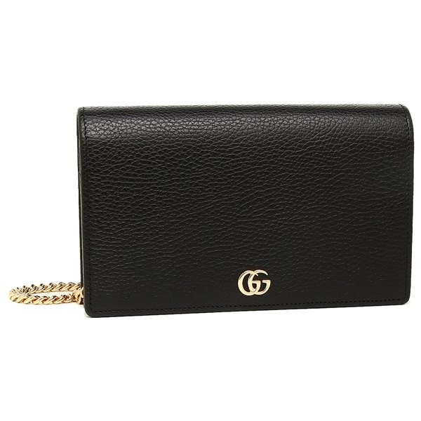 49445cf0995 Authentic GG Gucci Marmont Leather Mini Chain Bag WOC