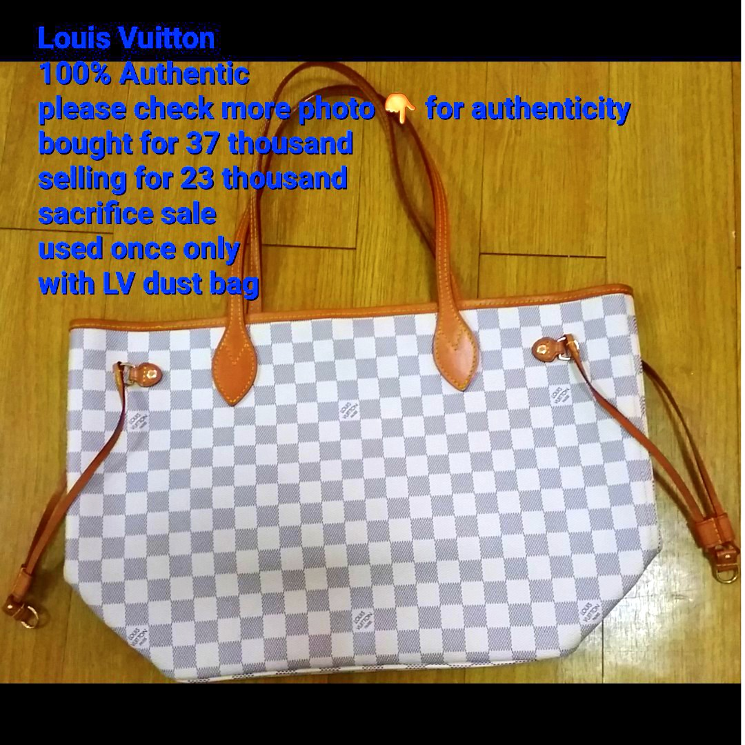 f9a6f4c9d Authentic Louis Vuitton bag, Luxury, Bags & Wallets on Carousell