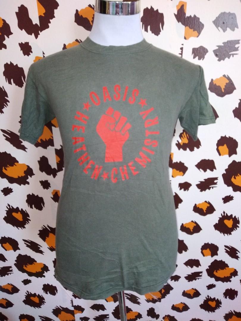 3497d054c3b5 Band Oasis Heathen Chemistry Big Logo, Men's Fashion, Clothes, Tops ...