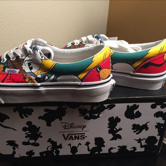 online store 824e0 0ac95 BN Vans X Disney Mickey Mouse & friends Sneaker Size 7, Eur ...