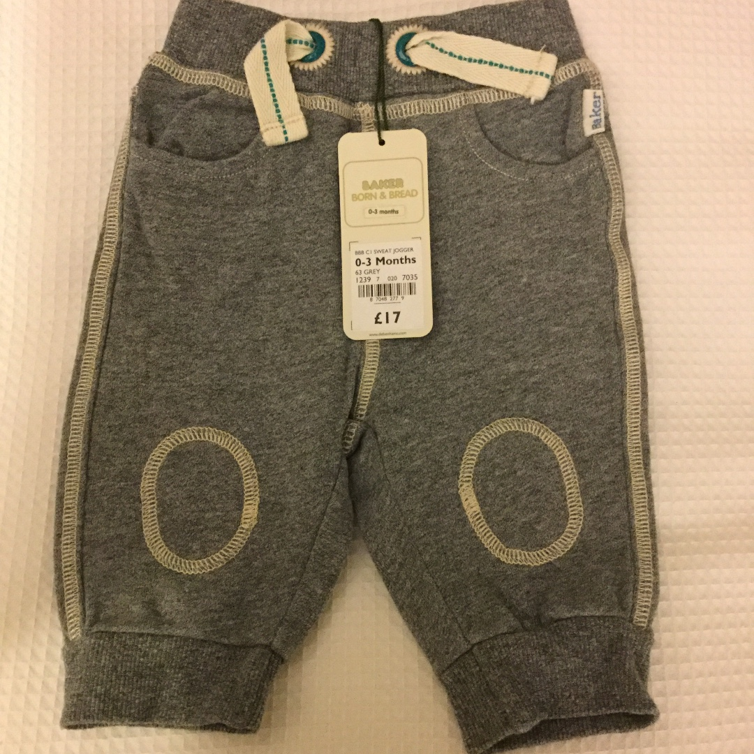 303f2230e BNWT Ted Baker baby boys joggers 0-3 months