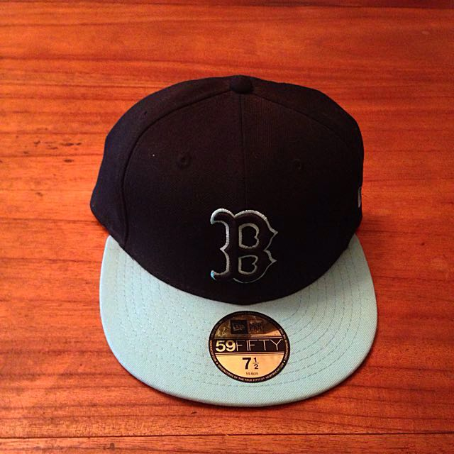 f69b410c98f83 Boston Red Sox New Era 59Fifty Fitted Hat 7 1 2
