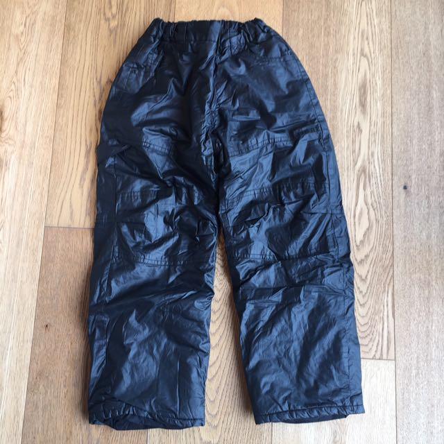 320d8e2a8e5 Boys Black Winter Snow Pants (6-8 years)