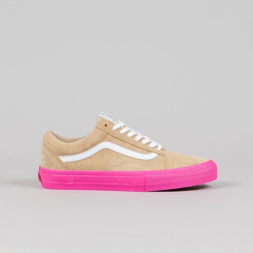 629e6106859bd6 Brand New  Vans x Golf Wang Syndicate Old Skool Pro Wheat Pink ...