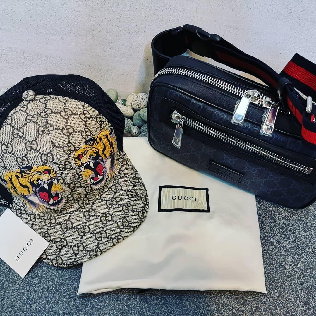dab3c38e460 Brandnew Authentic Gucci Belt Bag   Cap