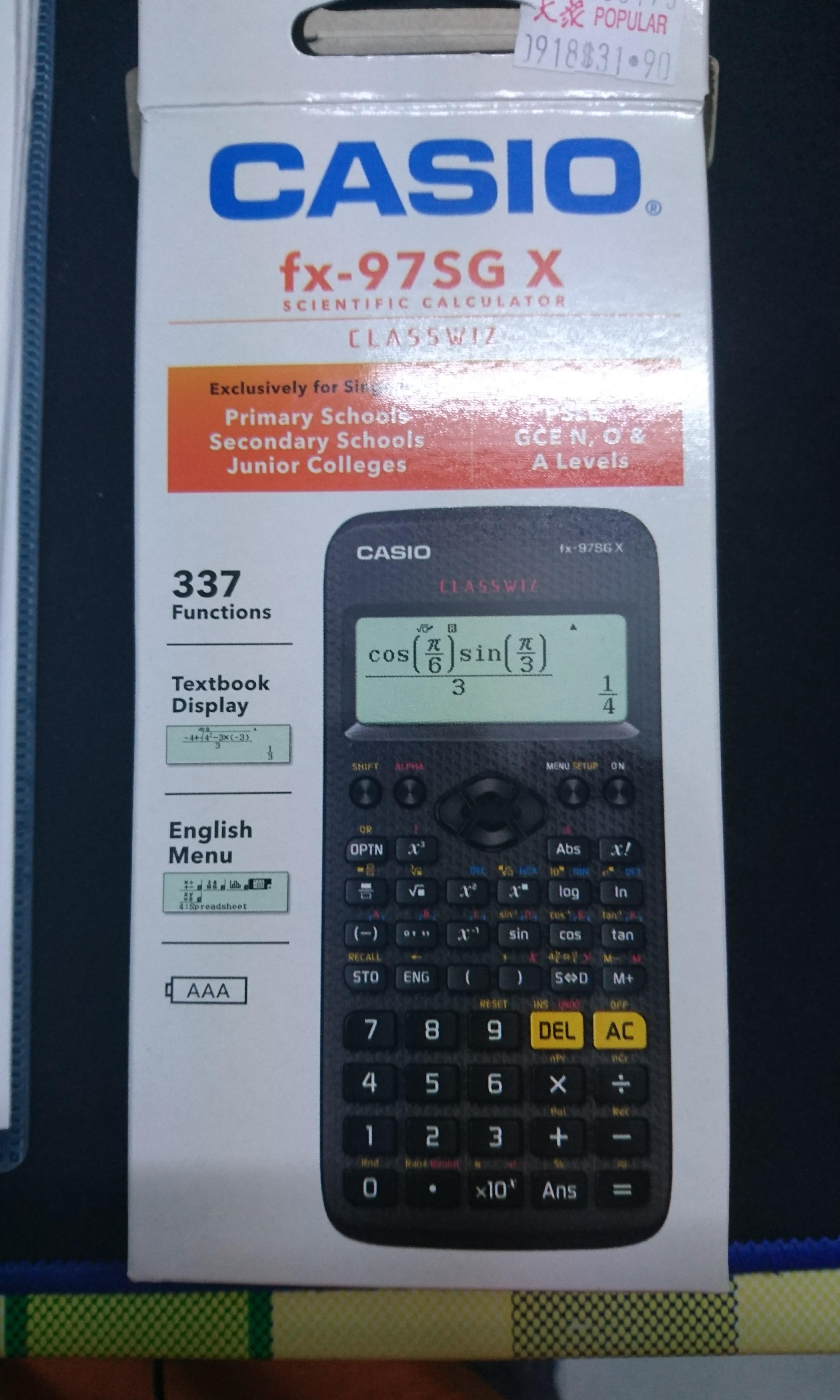 casio scientific calculator app