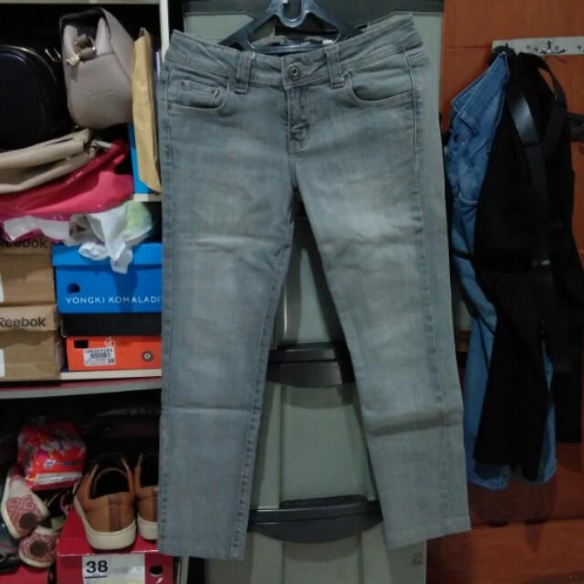 Celana Poshboy Ladies Jeans Warna Abu Muda Size 29