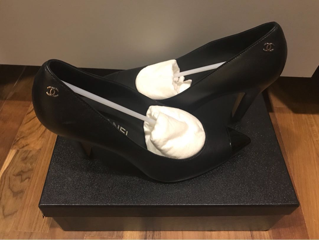 8bb8a2c5e39b Chanel Classic Black Heels, Women's Fashion, Shoes, Heels on Carousell