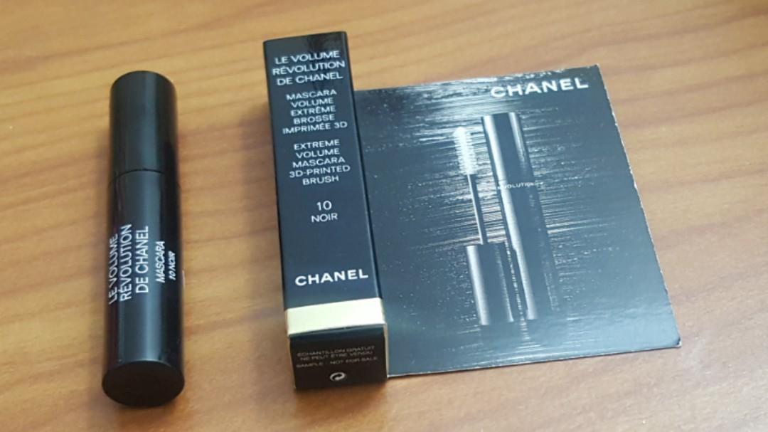 Chanel Le Volume Révolution De Chanel Mascara 1.5ml (Read description before offer)