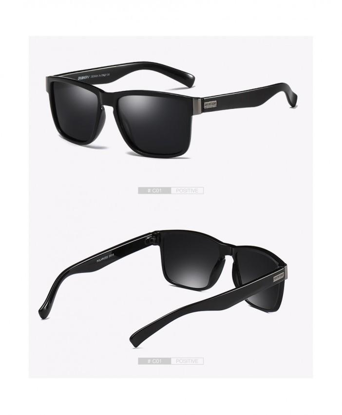 Dubery polarized sunglasses (Black)