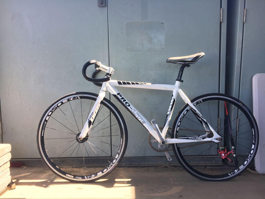 Extra small Prolite pista track bike , fair condition