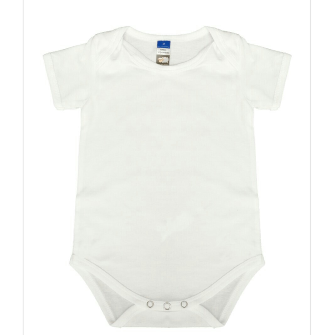 564a64f5beb Fullycombed Cotton Basic BLANK Baby Romper   Onesie