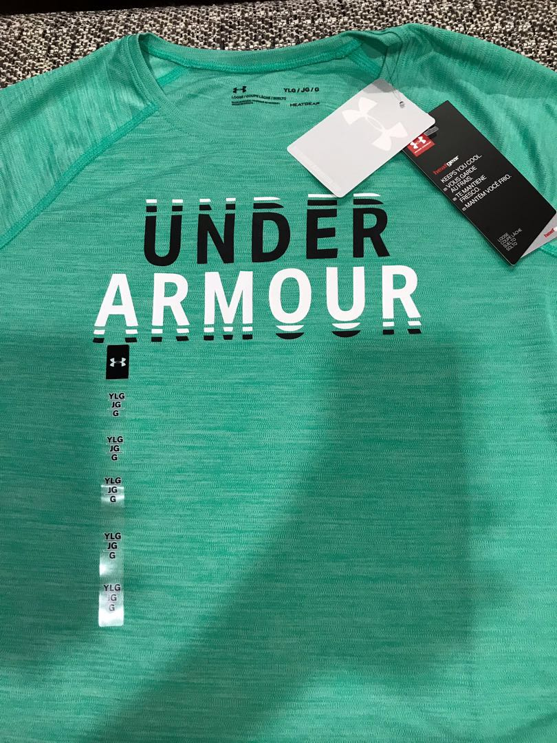 96eda50c93 Girls Under Armour Dry-Fit T-Shirt (Youth LG)