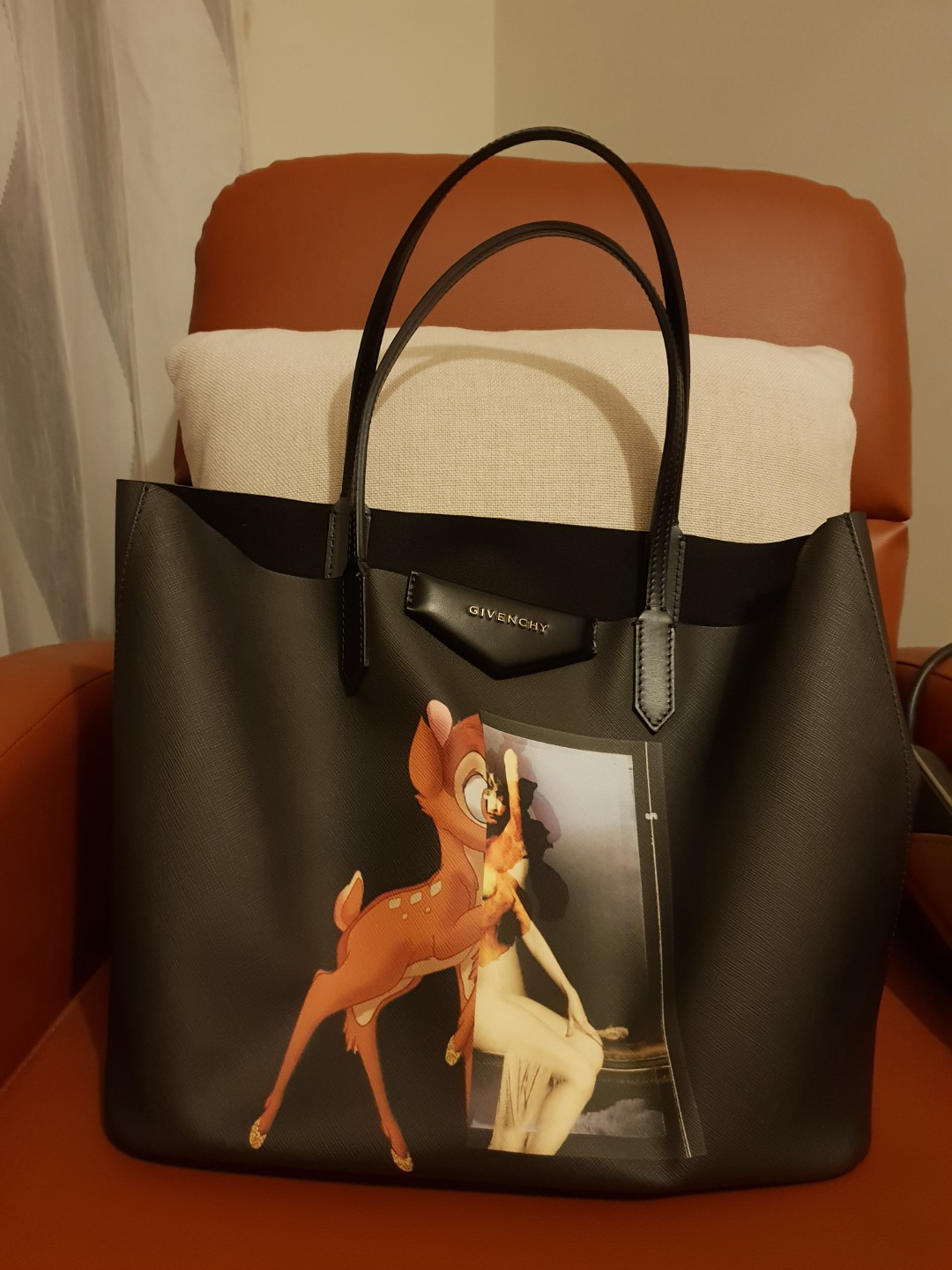7b95595431 Givenchy Antigona Small Leather Shopping Tote
