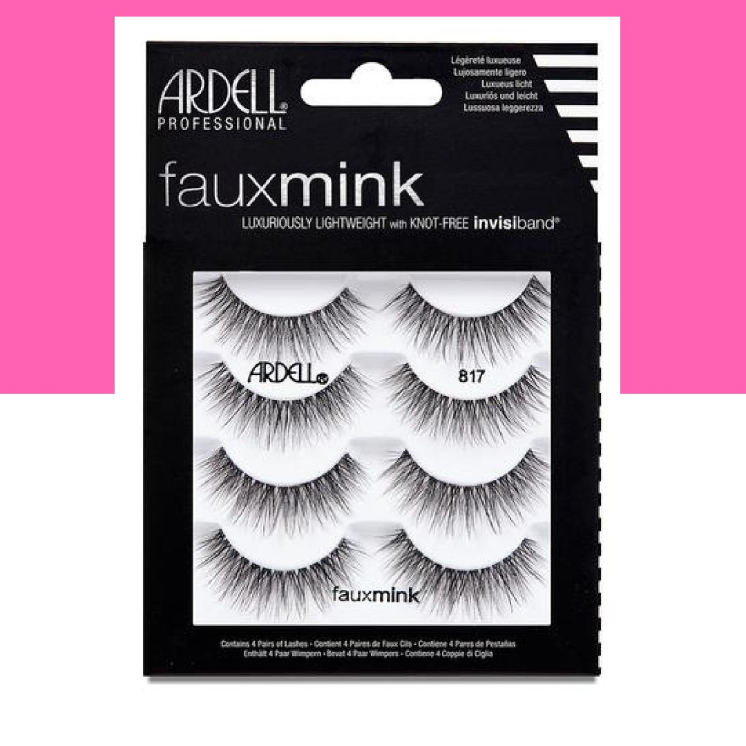 a3fa3b3eeda INSTOCK AND AUTHENTIC ARDELL FAUX MINK 4 PACK MULTIPACK LASHES #817 ...