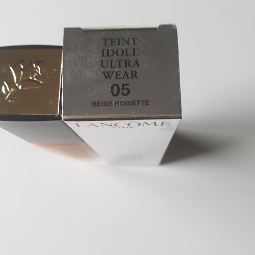 Lancome Teint Idole Ultra Wear Foundation SPF 15 - # 05 Beige Noisette 30ml. BNIB. RRP$58.