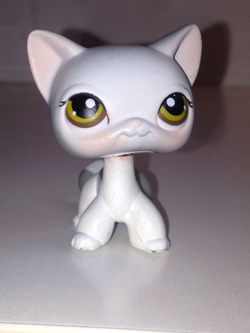 Lps Shorthair Cat Toys Games Bricks Figurines On Carousell