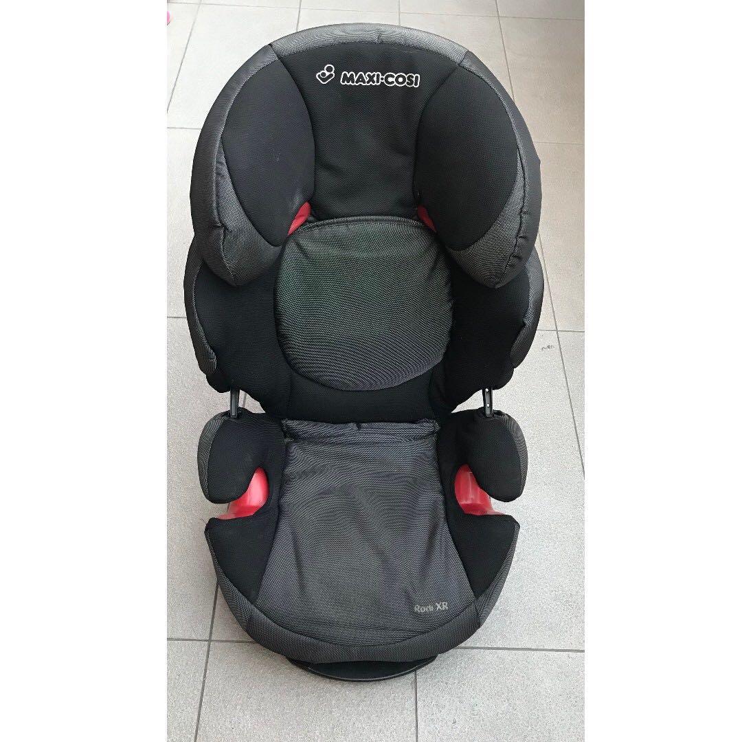 Wonderbaarlijk Maxi-Cosi Rodi XR Booster Car Seat, Black & Grey/Phantom, Babies MY-22