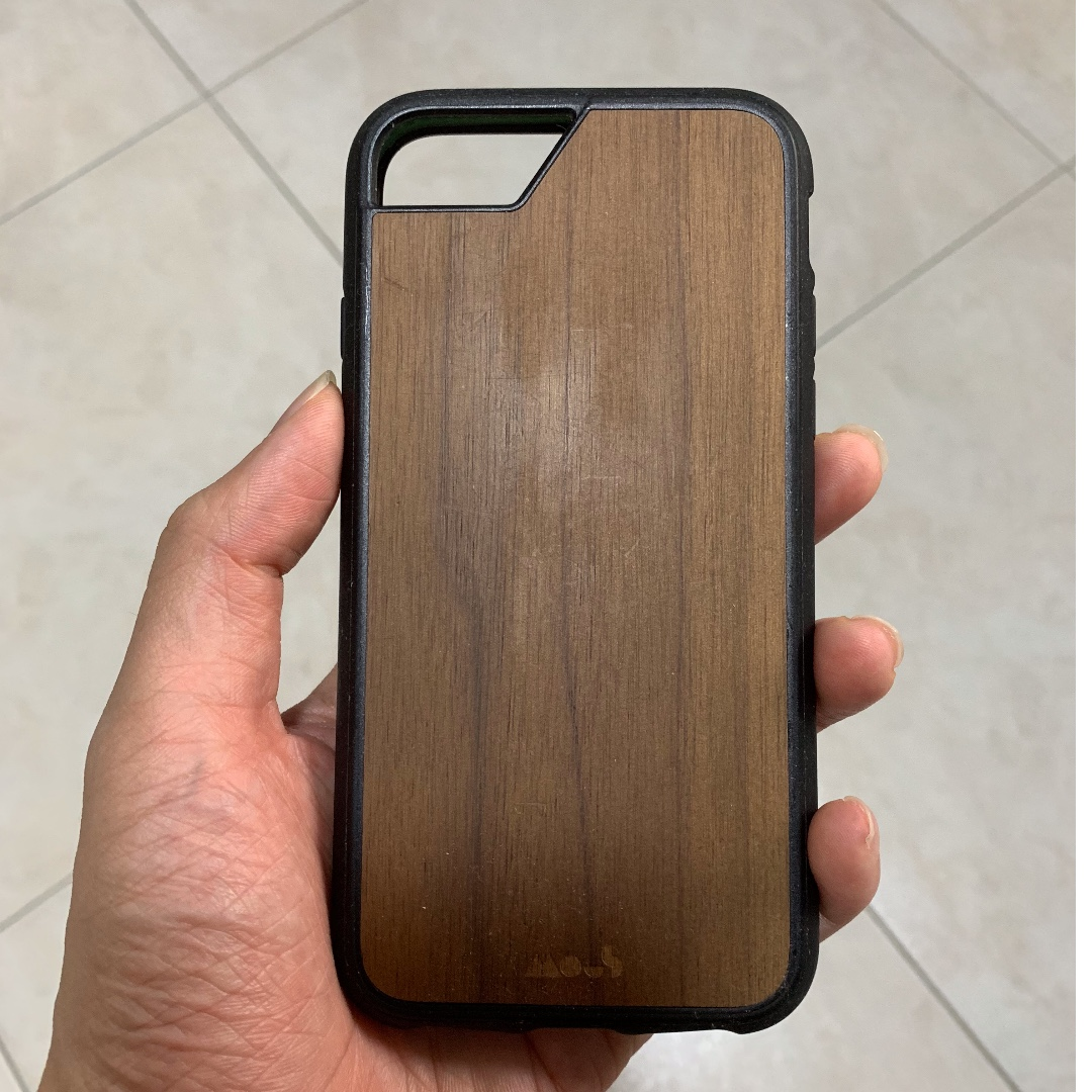 big sale 97caf 39afb iPhone 7 Mous Limitless 1.0 Case in Walnut