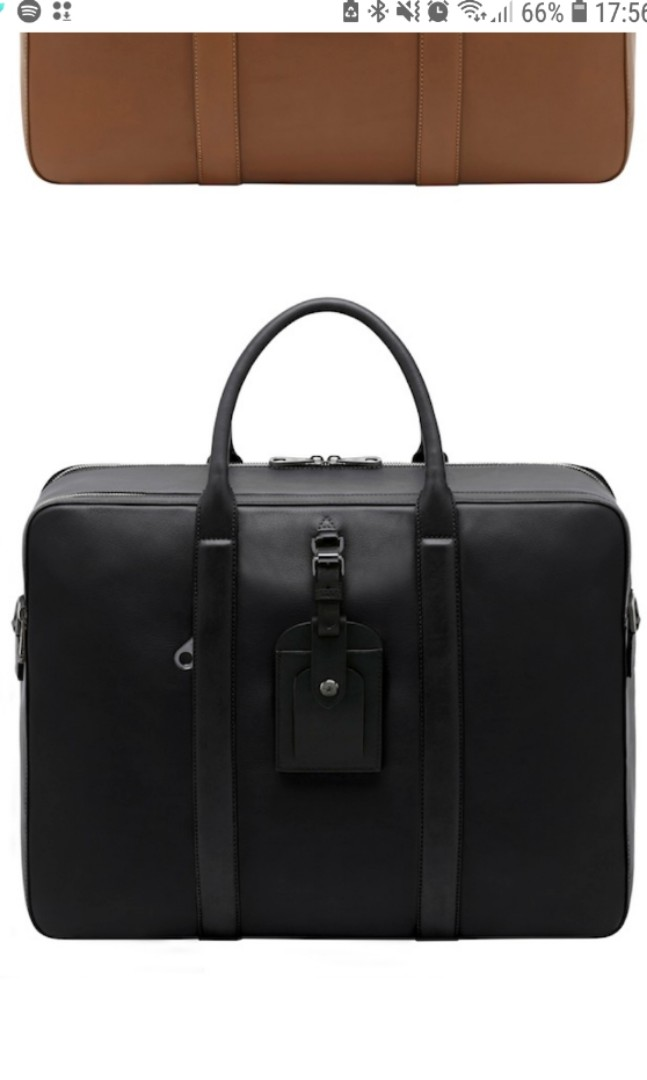 784247edaf7 Mulberry Men s Leather Briefcase (Matthew Collection), Men s Fashion ...