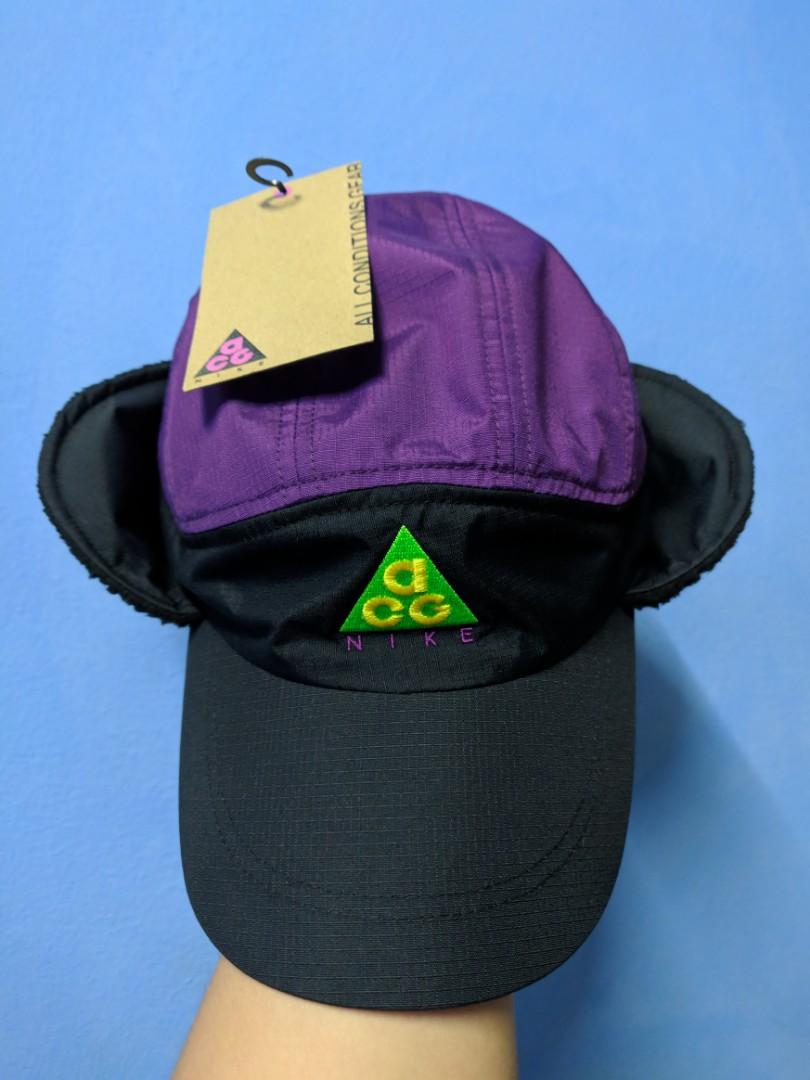 e6b91b808f1 NIKE ACG TAILWIND CAP BLACK   NIGHT PURPLE