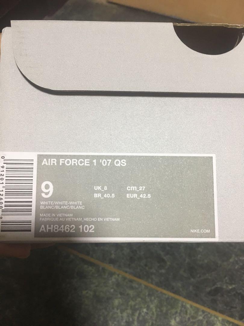 Nike Air Force 1   07 QS Swoosh Pack 2f6ee6e0e