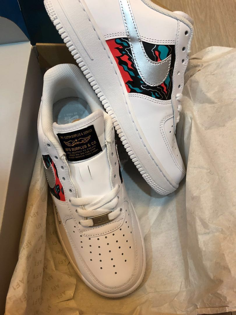 quality design 5dc8d 6593c Nike Air Force 1 x SBTG, Mens Fashion, Footwear, Sneakers on