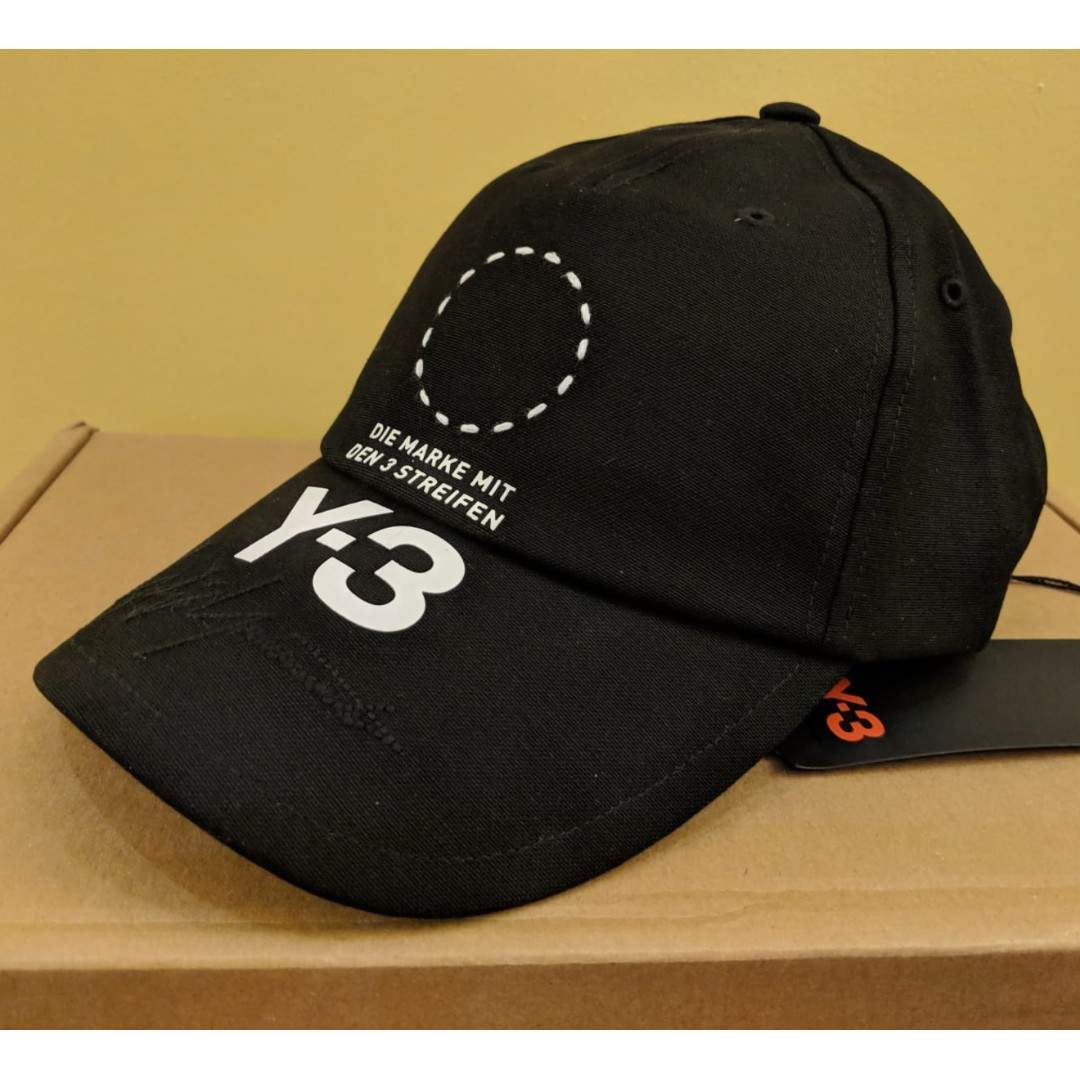 a4648af0664082 NWT Y-3 Adidas Yohji Yamamoto cap hat, Men's Fashion, Accessories, Caps & Hats  on Carousell